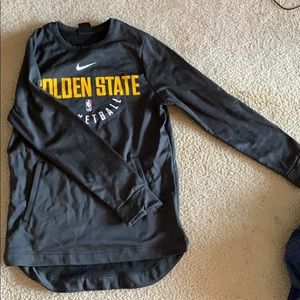 Golden State Nike Dri Fit long sleeve